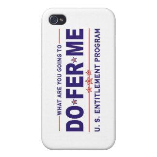 Programa del derecho de los E.E.U.U. iPhone 4 Protectores