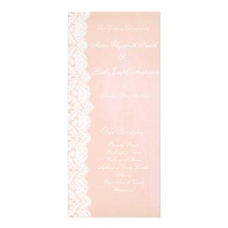 Programa del melocotón y del boda del cordón lona personalizada