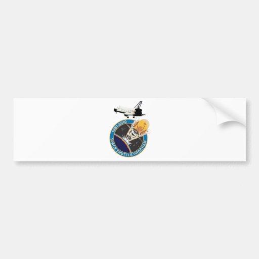 Programa del transbordador espacial de la NASA Etiqueta De Parachoque