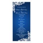 Programa del zafiro y del boda del cordón lona publicitaria