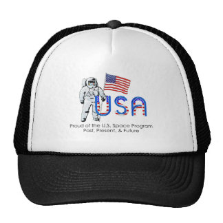 Programa espacial de los E.E.U.U. de la CAMISETA Gorras