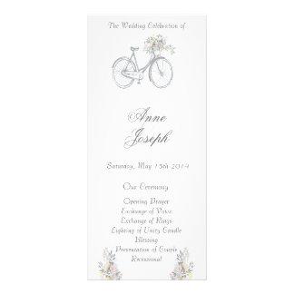 Programa floral rústico IV del boda Lona Publicitaria