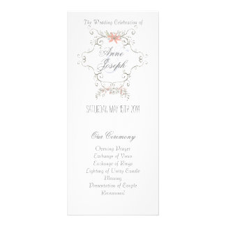 Programa II del boda del cuento de hadas Lona Publicitaria