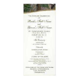 Programa natural del boda de Camo del árbol y de l Lonas Publicitarias