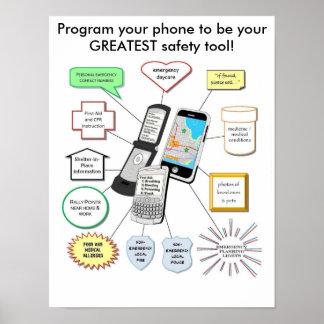 Programa para la seguridad póster
