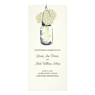 Programa rústico del tarro y de los Hydrangeas de Plantillas De Lonas