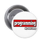 Programación… de mi antinarcótico pin