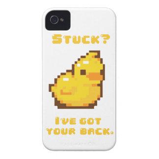Programación Ducky de goma iPhone 4 Case-Mate Coberturas