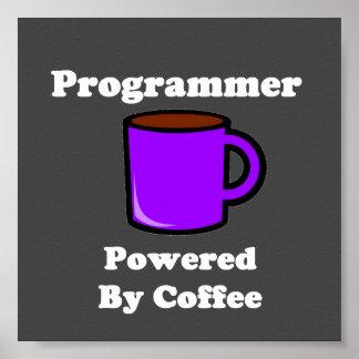 """""""Programador"""" accionado por el café Póster"""