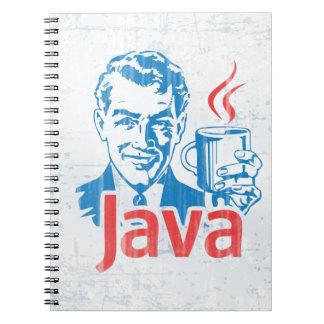Programador de Java Libretas Espirales