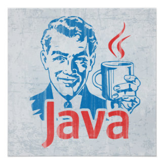 Programador de Java Póster