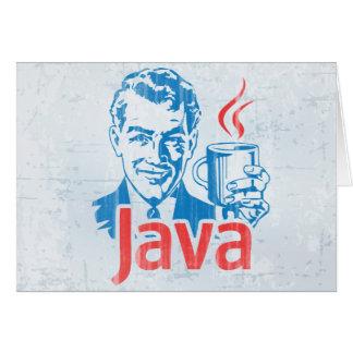 Programador de Java Tarjeta