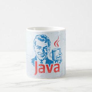 Programador de Java Taza Básica Blanca