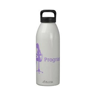 Programador de sexo femenino adaptable de la silue botallas de agua