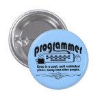 Programador divertido pins