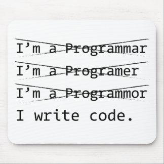 Programador divertido tapetes de ratones