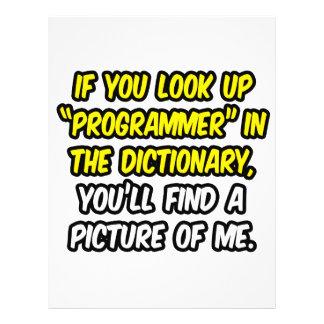 Programador en diccionario… mi imagen tarjetas publicitarias