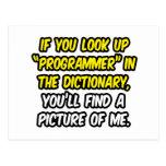 Programador en diccionario… mi imagen postal