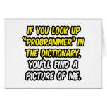 Programador en diccionario… mi imagen felicitaciones
