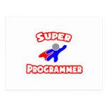 Programador estupendo postal