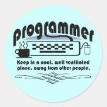 Programador Etiquetas Redondas