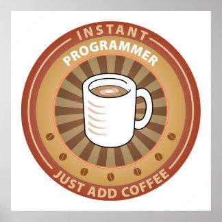 Programador inmediato póster