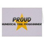 Programador numérico orgulloso de la herramienta felicitación