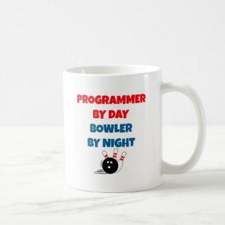 Programador por el jugador de bolos del día por taza