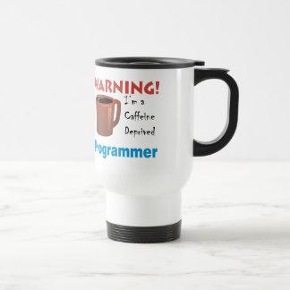 Programador privado cafeína taza térmica