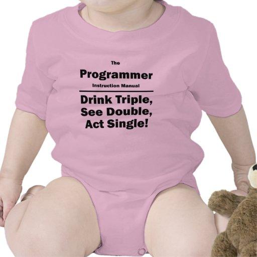 programador trajes de bebé