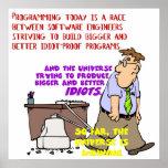 Programadores contra el universo (1) posters