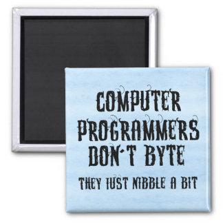 Programadores de Byting Imán Cuadrado