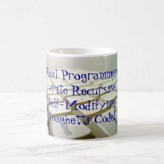 Programadores reales… taza de café