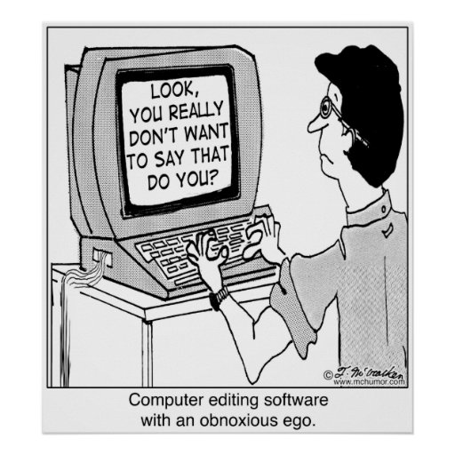 Programas informáticos desagradables póster