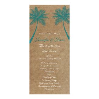 Programas tropicales del boda de playa del trullo  tarjetas publicitarias personalizadas