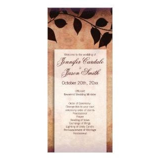 Programas verticales del boda de las hojas de lonas publicitarias