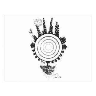 Programmable Animal Logo Postcards