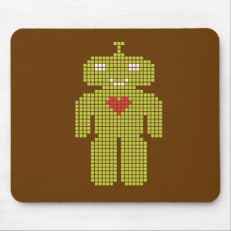 Programmed with Love Mouse Pad