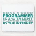 Programmer 3% Talent Mouse Mat