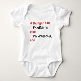 Programmer baby (FeedMe, PlayWithMe) Baby Bodysuit