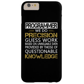 PROGRAMMER BARELY THERE iPhone 6 PLUS CASE