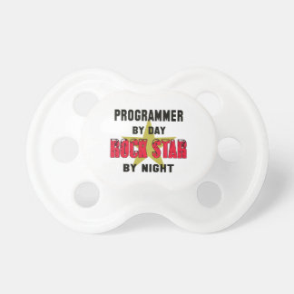 Programmer by Day rockstar by night BooginHead Pacifier