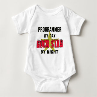 Programmer by Day rockstar by night T Shirt