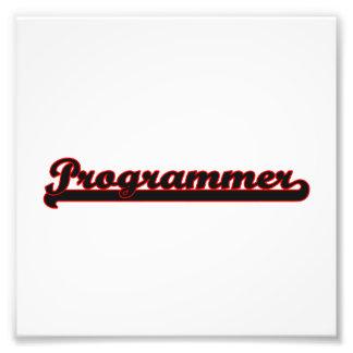 Programmer Classic Job Design Photo Print