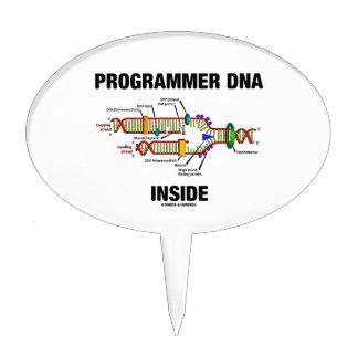 Programmer DNA Inside (DNA Replication) Cake Topper