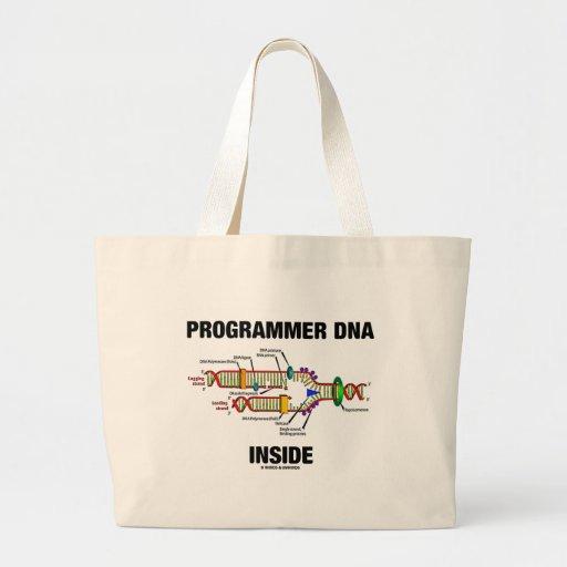 Programmer DNA Inside (DNA Replication) Canvas Bag