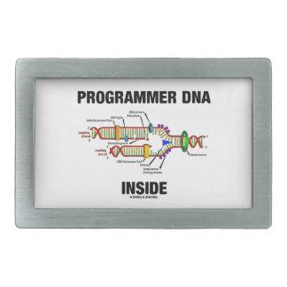 Programmer DNA Inside (DNA Replication) Rectangular Belt Buckle