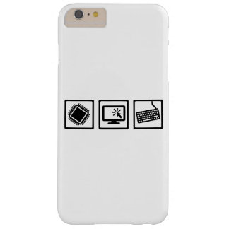 Programmer equipment barely there iPhone 6 plus case