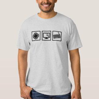 Programmer equipment tee shirt