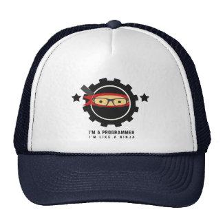 programmer hat : i'm a programmer,i'm like a ninja